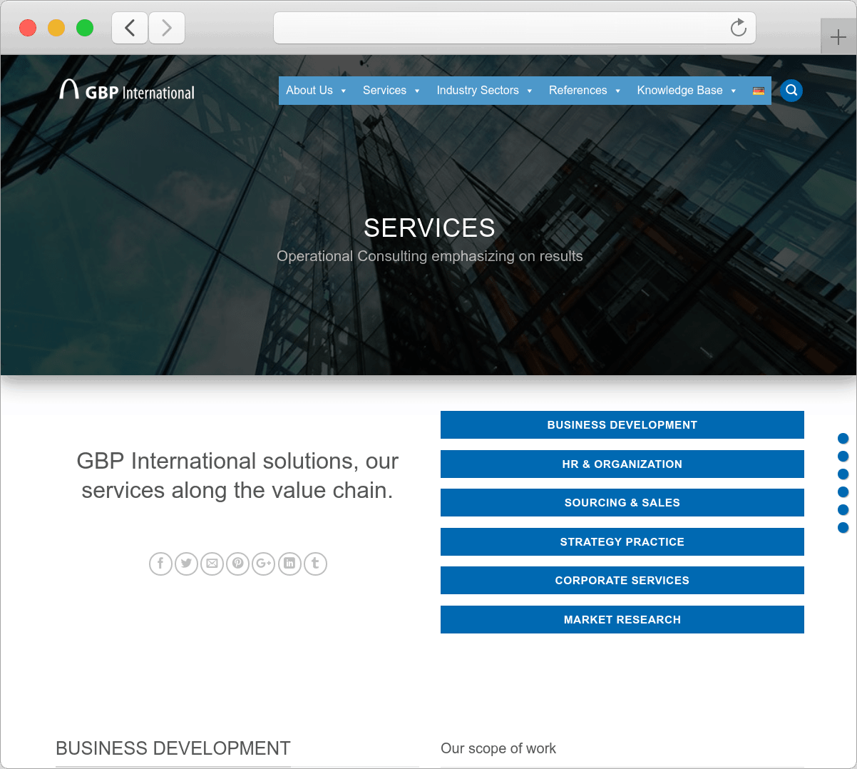 Ultimate Index - Your ROI driven full service SEO - GBP International - 2